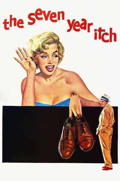 Poster The Seven Year Itch (1955)