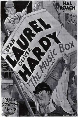 Poster The Music Box (1932)