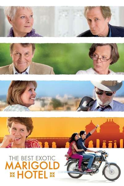 Poster The Best Exotic Marigold Hotel (2011)