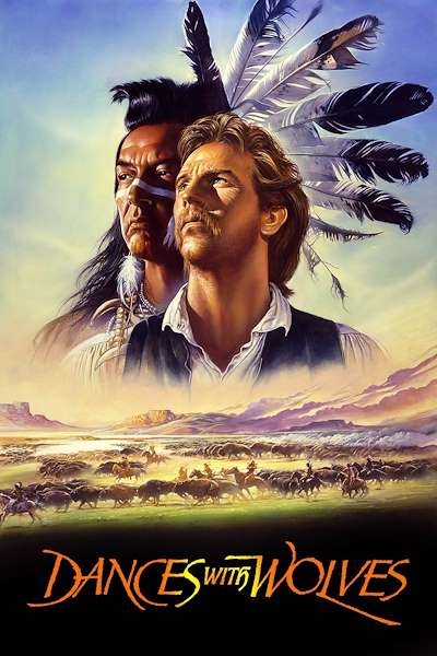Poster Dances with Wolves (1990)