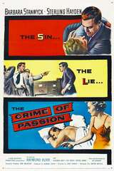 Poster Crime of Passion (1957)