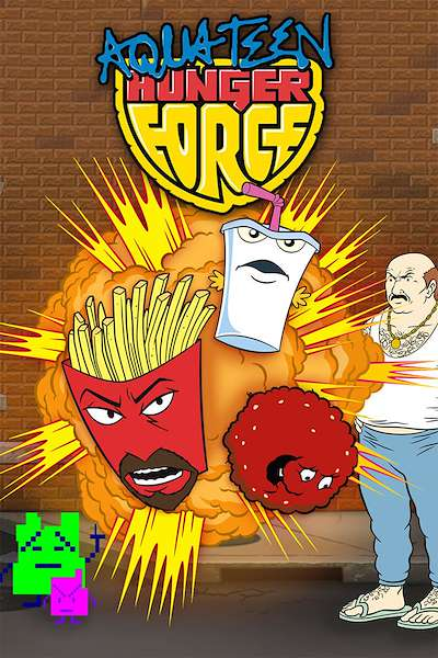 Poster Aqua Teen Hunger Force (2000 - 2015)