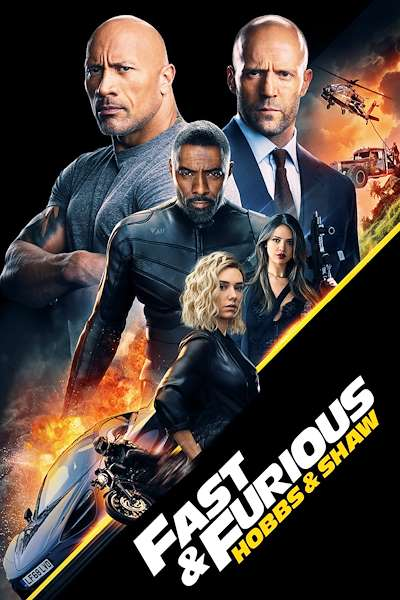 Poster Fast & Furious Presents: Hobbs & Shaw (2019)