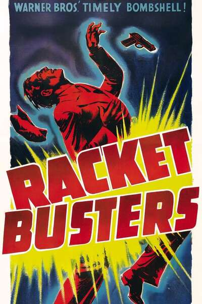Poster Racket Busters (1938)