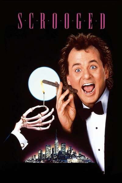 Poster Scrooged (1988)