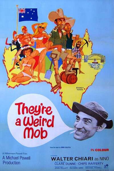Poster They're a Weird Mob (1966)