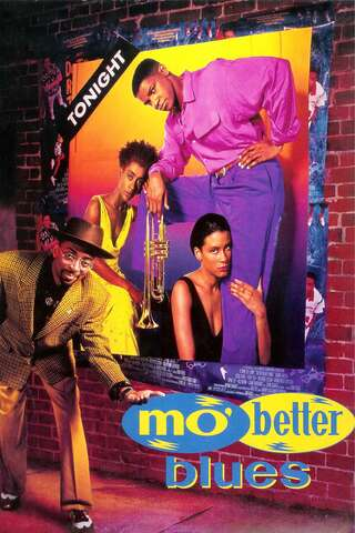 Poster Mo' Better Blues (1990)