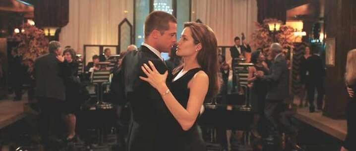 Mr Mrs Smith At Cicada Restaurant And Club Filming Location