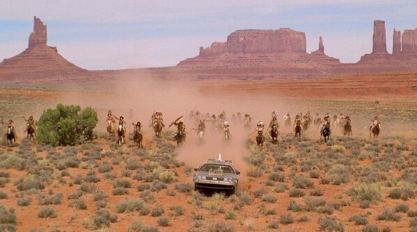 Back to the Future Part III at Monument Valley - filming location