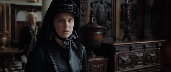 Enola Holmes at Hatfield House - The Marble Hall - filming ...